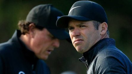 Paul Casey and Phil Mickelson will square off on Monday at Pebble.
