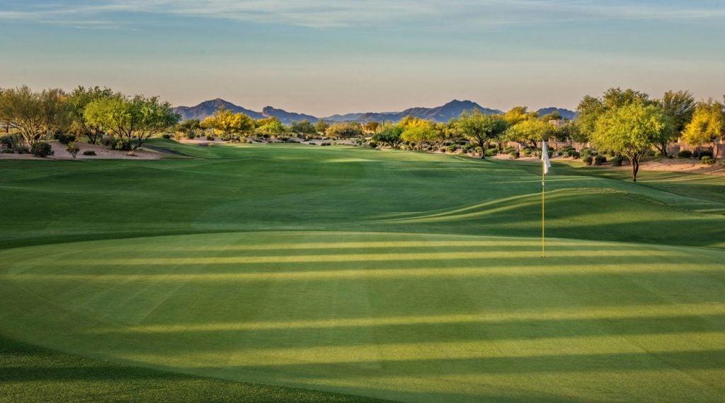 The Marriott Wildfire Golf Club showcases some beautiful desert views.