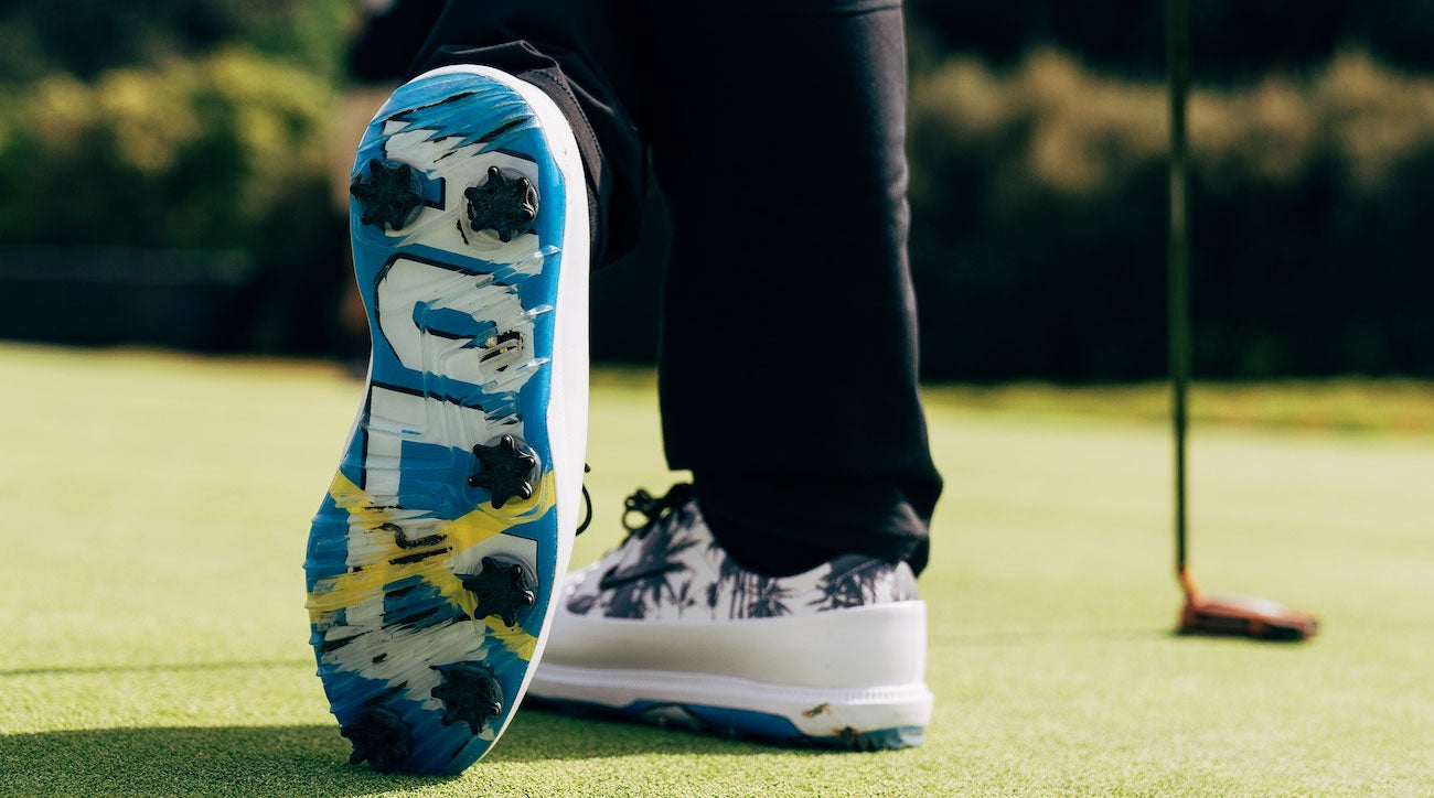 Rory McIlroy debuted a pair of Nike PE's at the Genesis Open.
