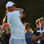 Tiger Woods during the second round of the 2018 Genesis Open