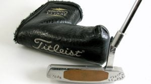 Tiger Woods personally used this Scotty Cameron putter prior to the 1997 season. It recently sold at auction for almost $23,000.