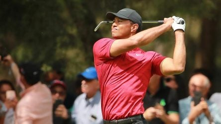 Tiger Woods pictured during the final round of the 2019 WGC-Mexico Championship
