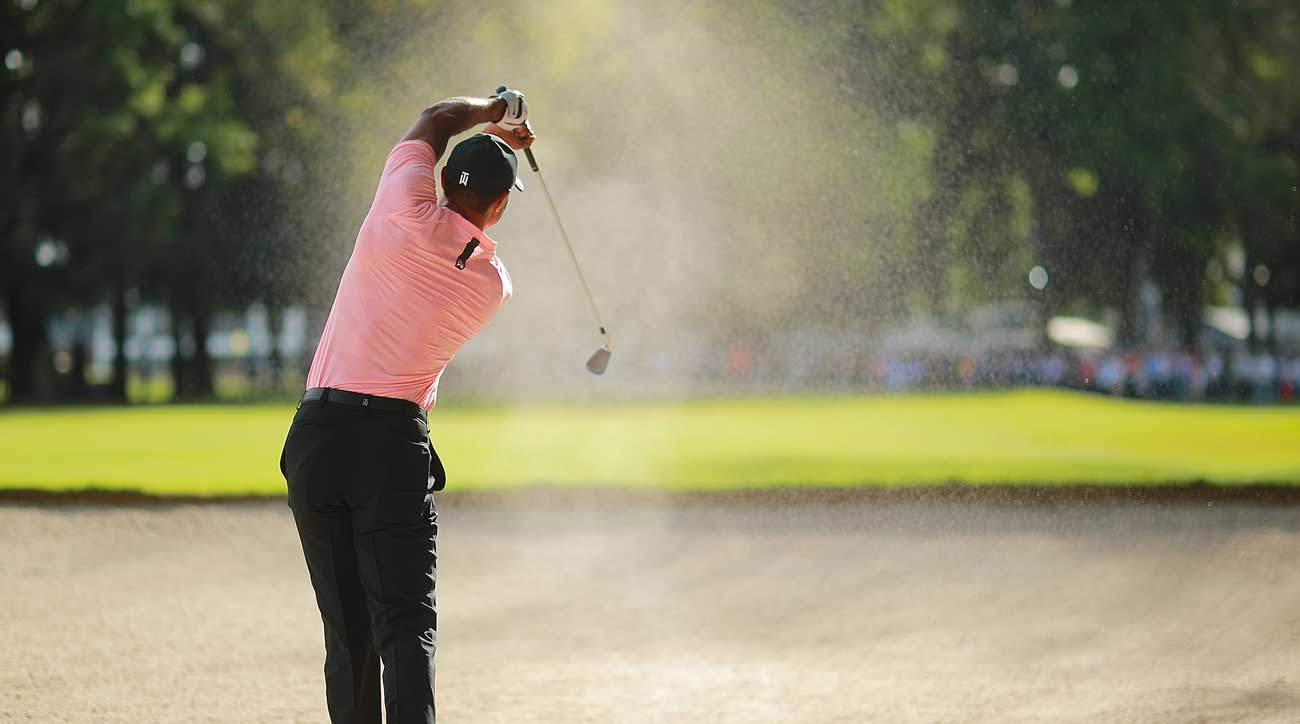 tiger u2019s stunning bunker shot and the other best things in