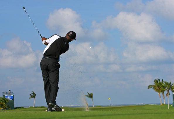 O'Neal has won twice on the PGA Tour Latinoamerica tour.