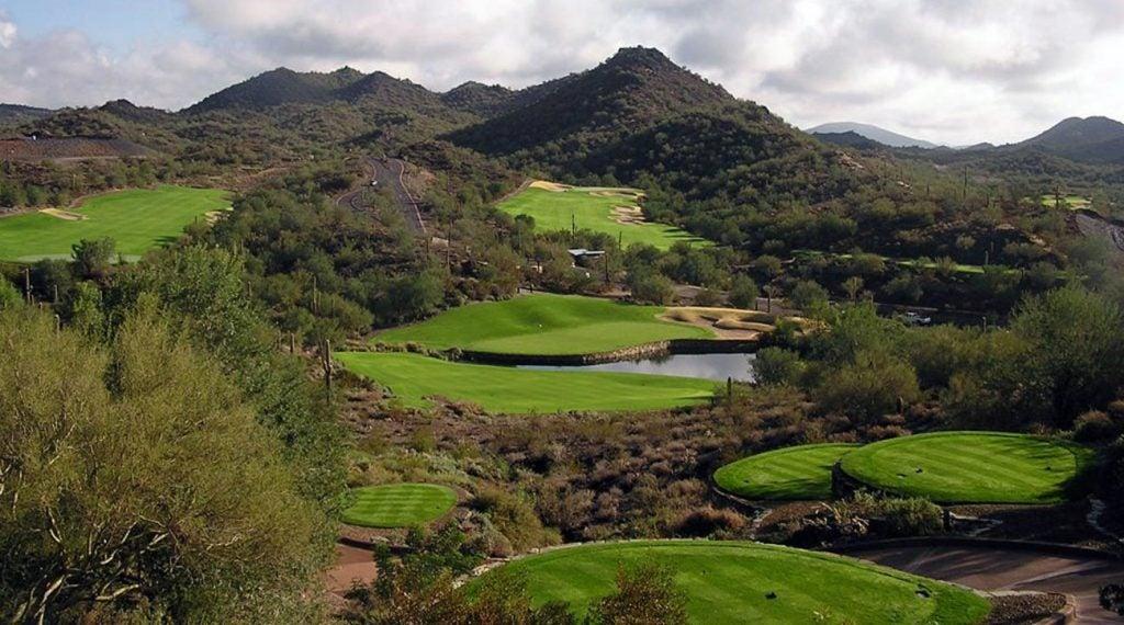 Elevated tees and mountain views make Quintero Golf Club worth the trip.
