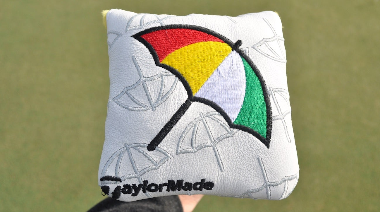 TaylorMade designed a special edition headcover for the Arnold Palmer Invitational.