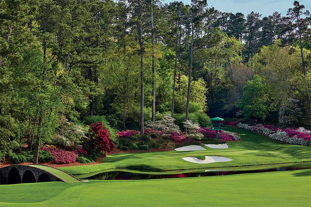 The 12th hole at Augusta National is in the middle of Amen Corner.