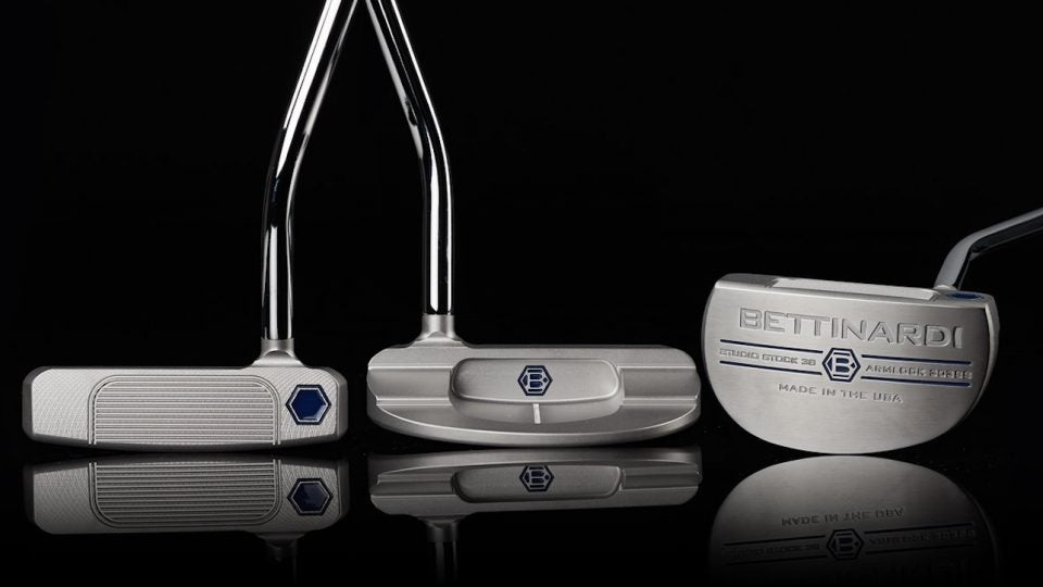 Bettinardi's SS38 Armlock is a line extension for the Studio Stock Series.
