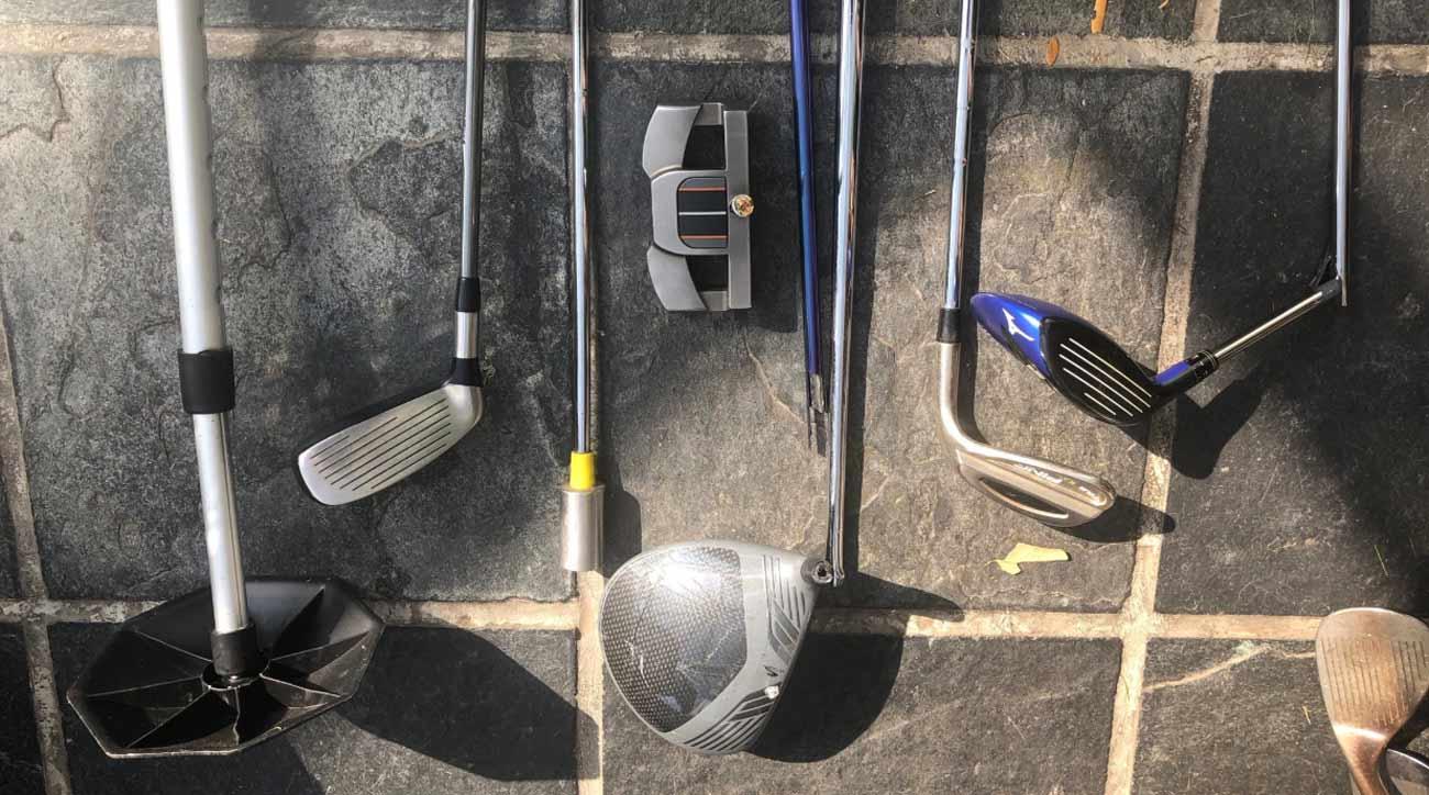 Broken Golf Clubs AIrline