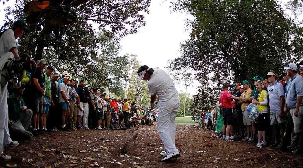 Watson's shot-shaping magic helped win him the green jacket in 2012.