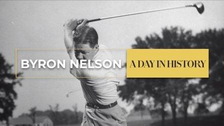 golfer swing byron nelson winning streak