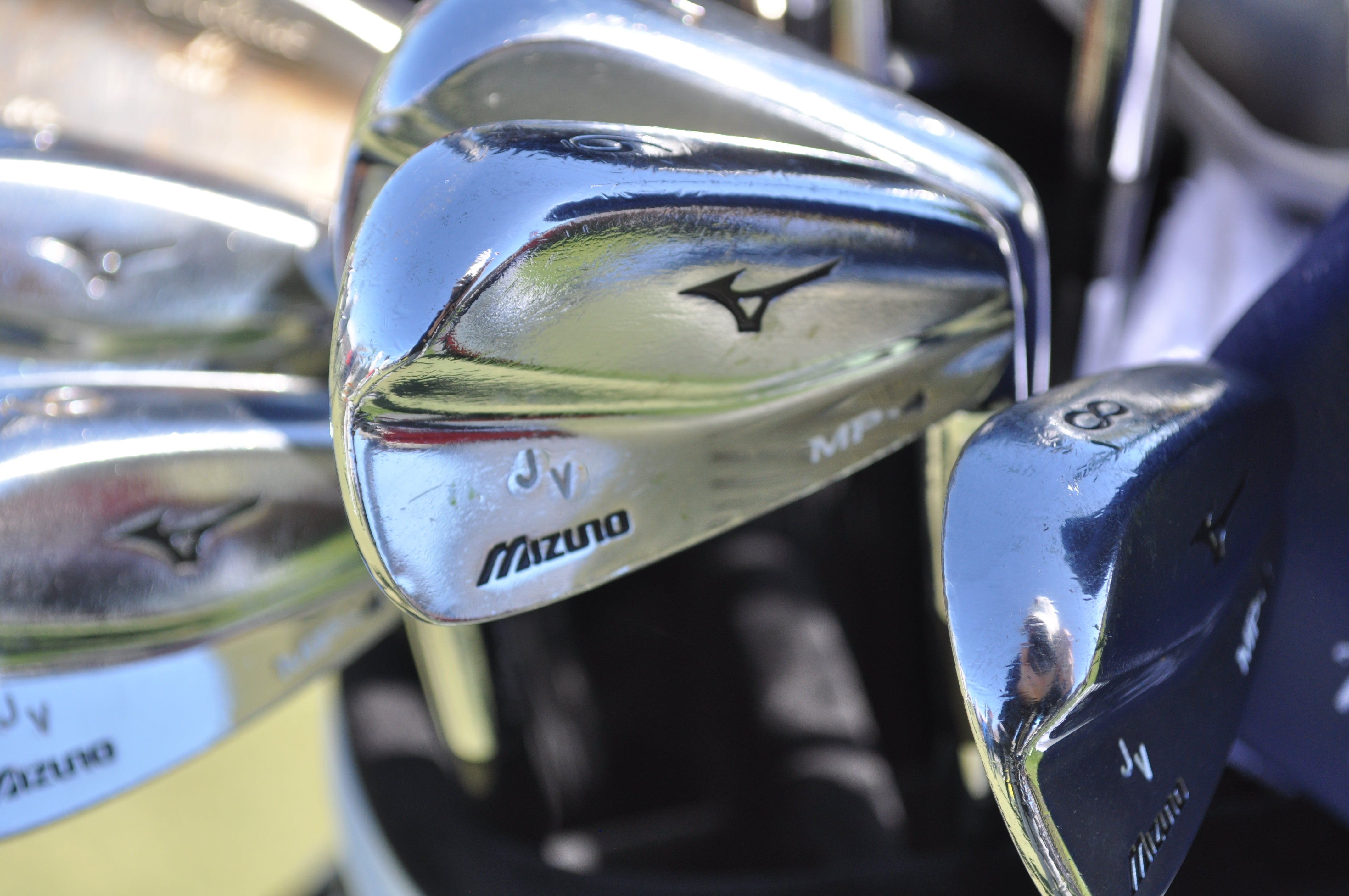Jhonattan Vegas has logged multiple tour wins with this set of Mizuno MP-4 blades.