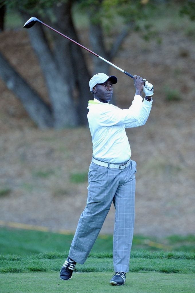 Don Cheadle is an Oscar-nominated actor who also maintains a 7 handicap.