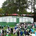First hole scoreboard, Augusta National