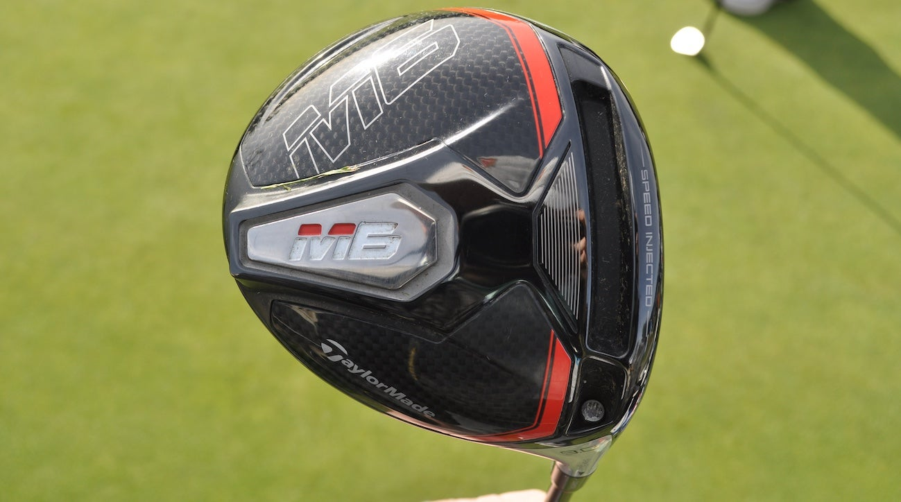 Instead of switching from TaylorMade M3 to M5, Tommy Fleetwood went with the more forgiving M6 driver.