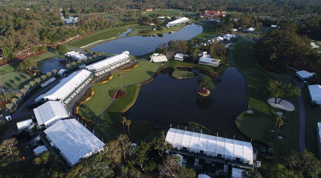 Pete Dye may have achieved the pinnacle of Florida Golf at TPC Sawgrass, where the misses are particularly penal.