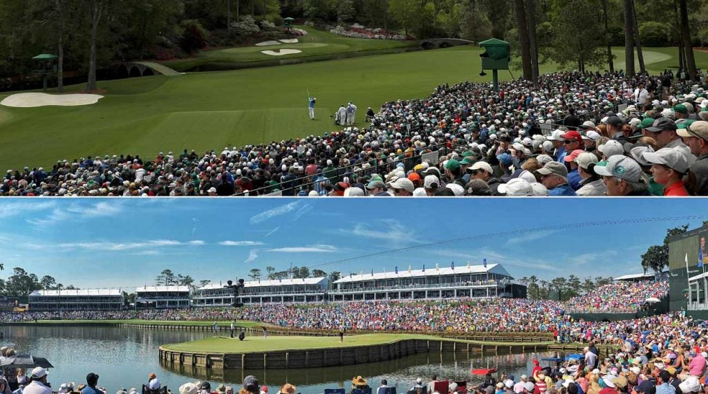 No 12 at Augusta and No. 17 at TPC Sawgrass are both fan favorites.