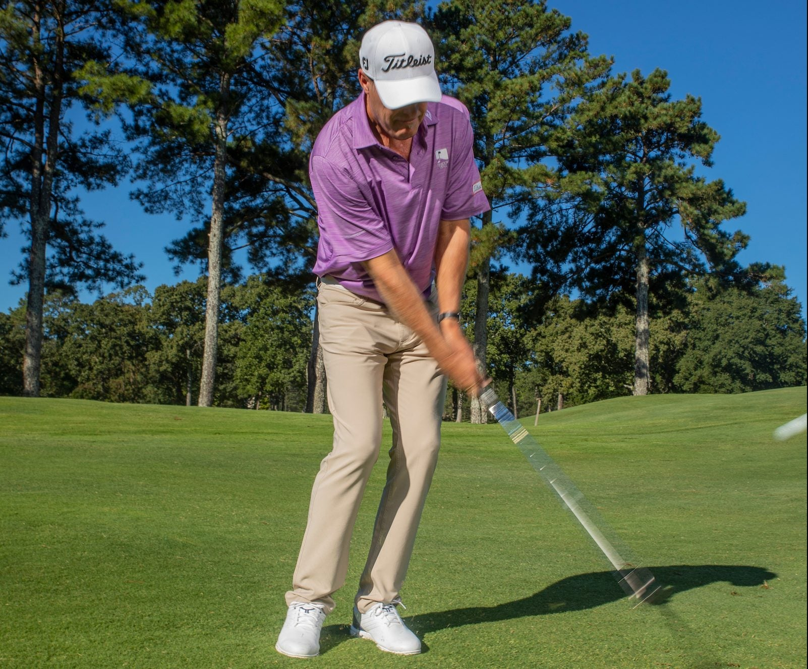 Short game golf tip: James Seickmann demonstrates releasing the clubhead