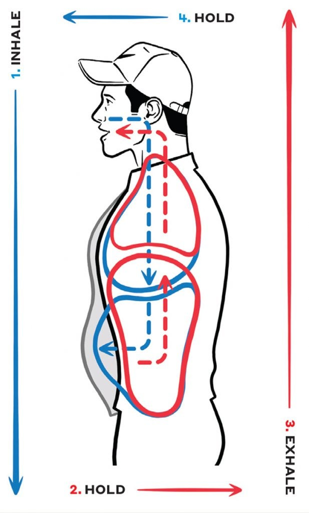 Box Breathing requires just four easy steps to follow by.