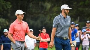 Dustin Johnson and Rory McIlroy are the favorites to win at the WGC-Dell Technologies Match Play.