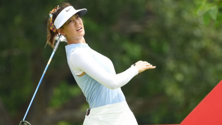 Michelle Wie won't be teeing it up this week at the Kia Classic.
