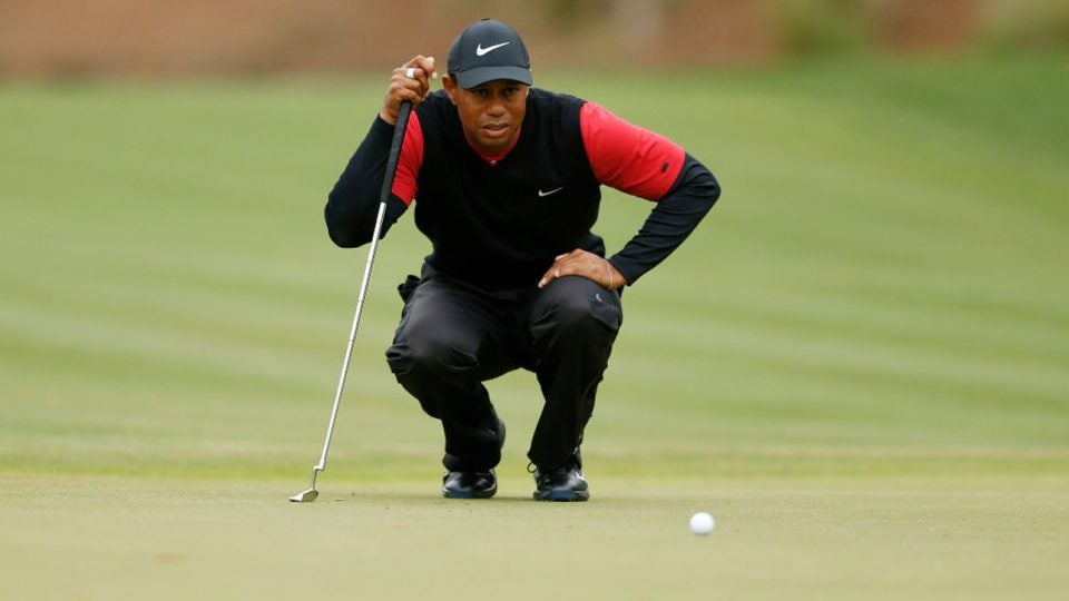 Box breathing will help golfers garner the same level of focus that Tiger has before a big putt.