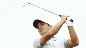 Francesco Molinari is two wins away from capturing the WGC-Dell Technologies Match Play title.