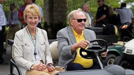 Jack and Barbara Nicklaus are calling on the golf community to Play Yellow.