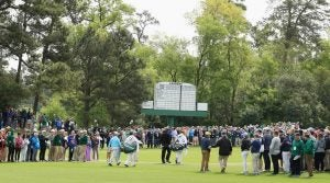 Augusta National's fifth hole now stretches to a steep 490 yards.