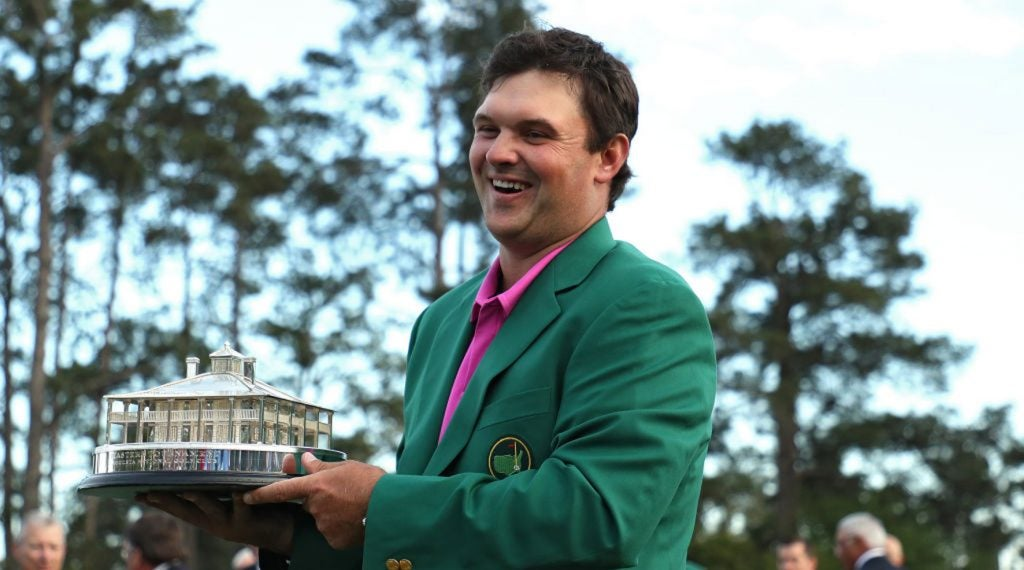 Patrick Reed is getting ready to defend his Masters title next month.