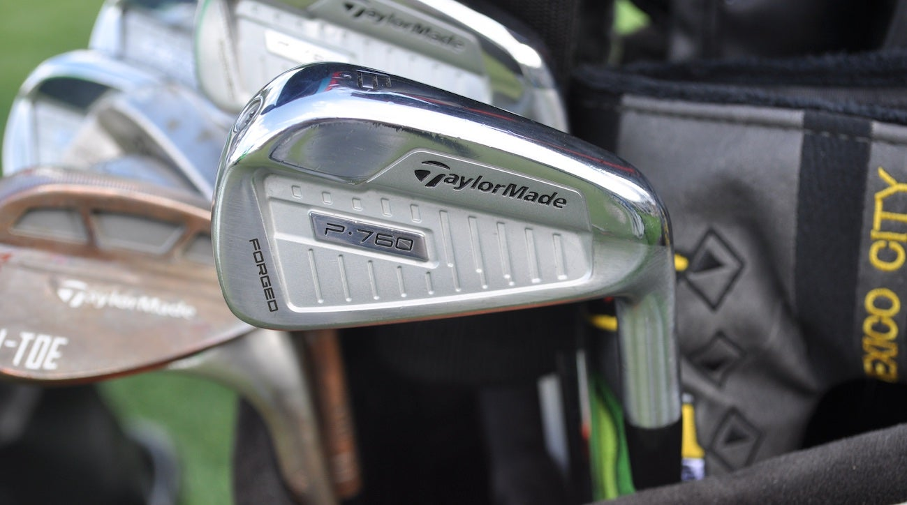 Haotong Li spent weeks testing TaylorMade's P760 irons before giving them the nod.
