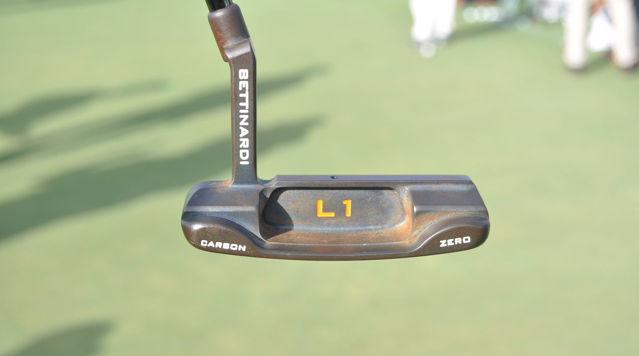 Haotong Li's custom Bettinardi BB-Zero putter is 34.5 inches with 3.75 degrees of loft.