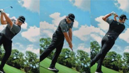 Jon Rahm golf swing