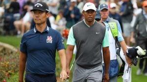 Tiger Woods kevin na
