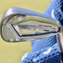 Brooks Koepka tested a Mizuno JPX 919 Hot Metal Pro 3-iron on Wednesday.
