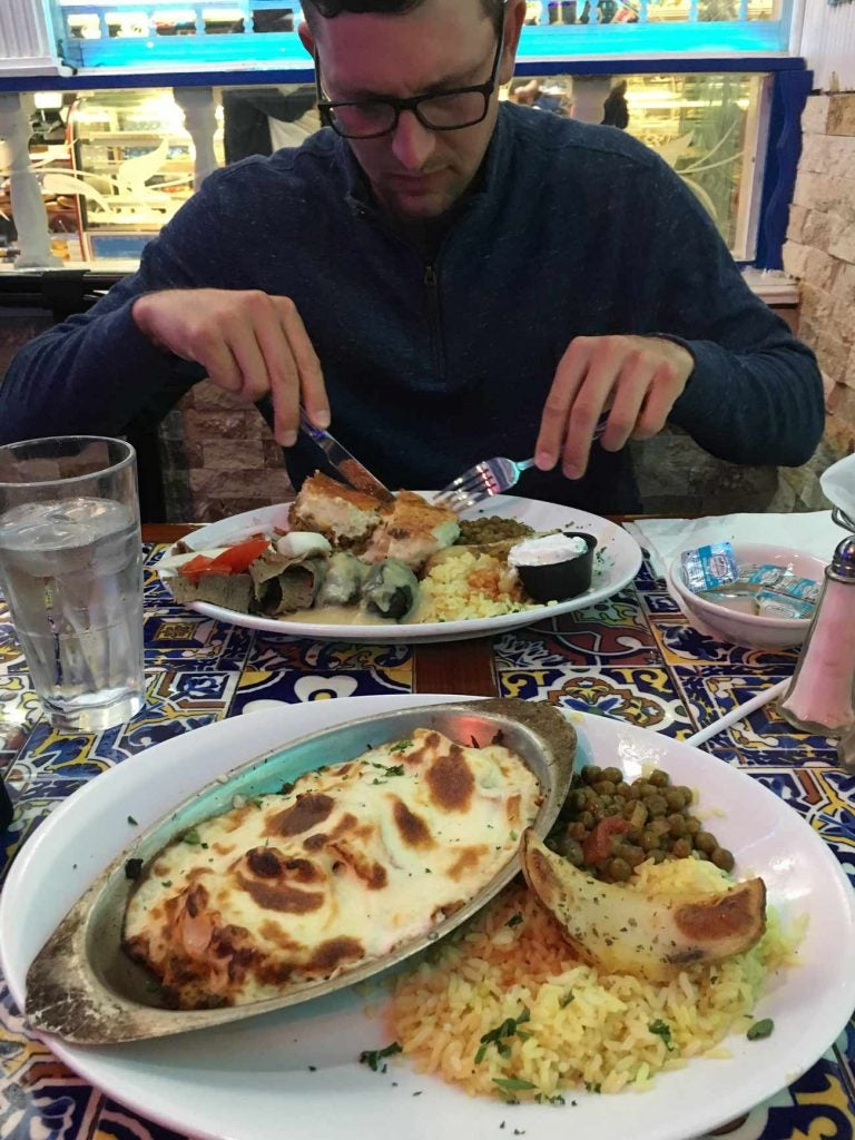 How does a PGA Tour player deal with shooting 77? Martin Trainer broke it down over Greek food.