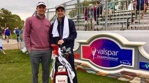 Martin Trainer PGA Tour caddie