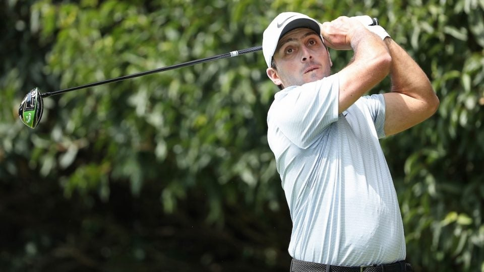 Francesco Molinari left equipment free agency to sign with Callaway.