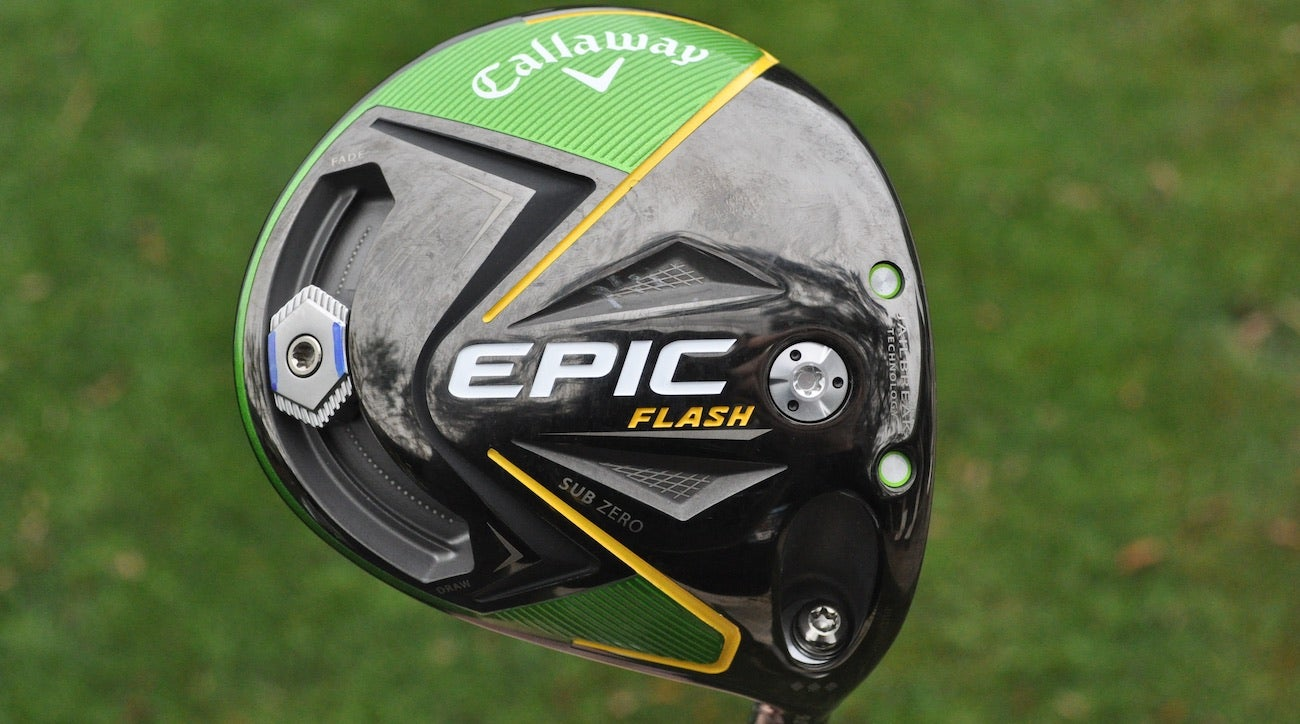 Francesco Molinari's Callaway Epic Flash Sub Zero driver.