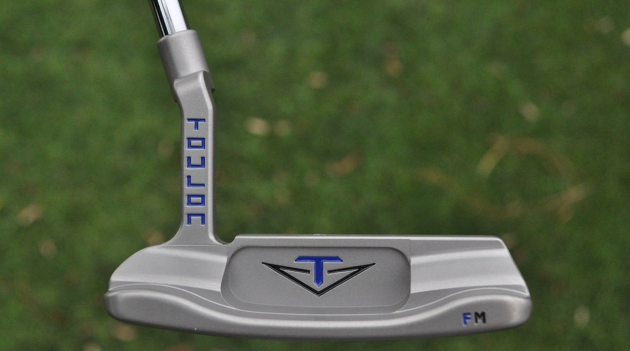 The first putter Francesco Molinari received from Odyssey is the Toulon Madison he currently has in the bag.