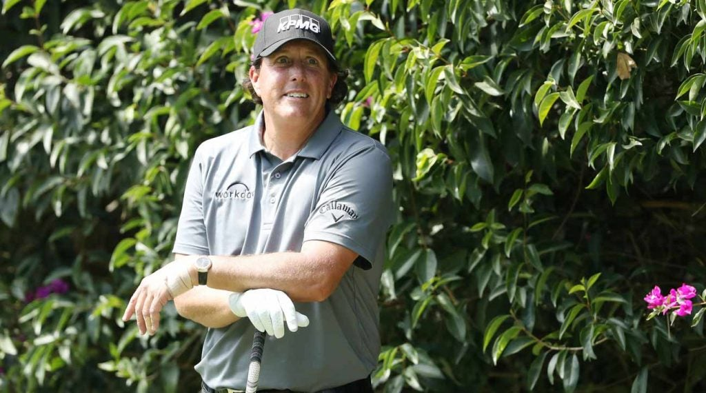 Phil Mickelson's Players Championship decision will come on his own terms.