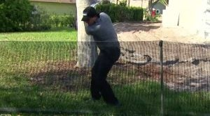 Phil Mickelson Righty OB Fence