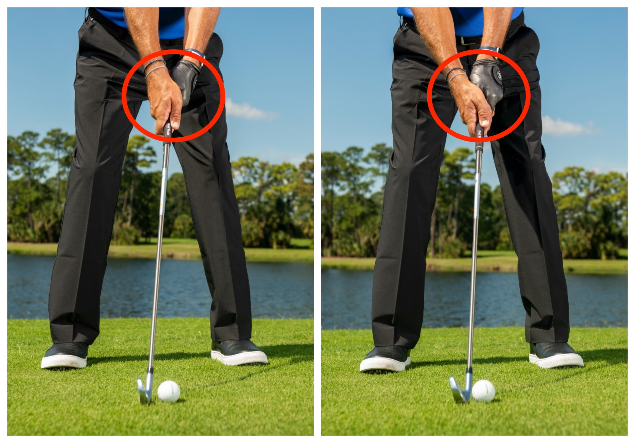 This is the No  1 problem for golfers who can't break 80
