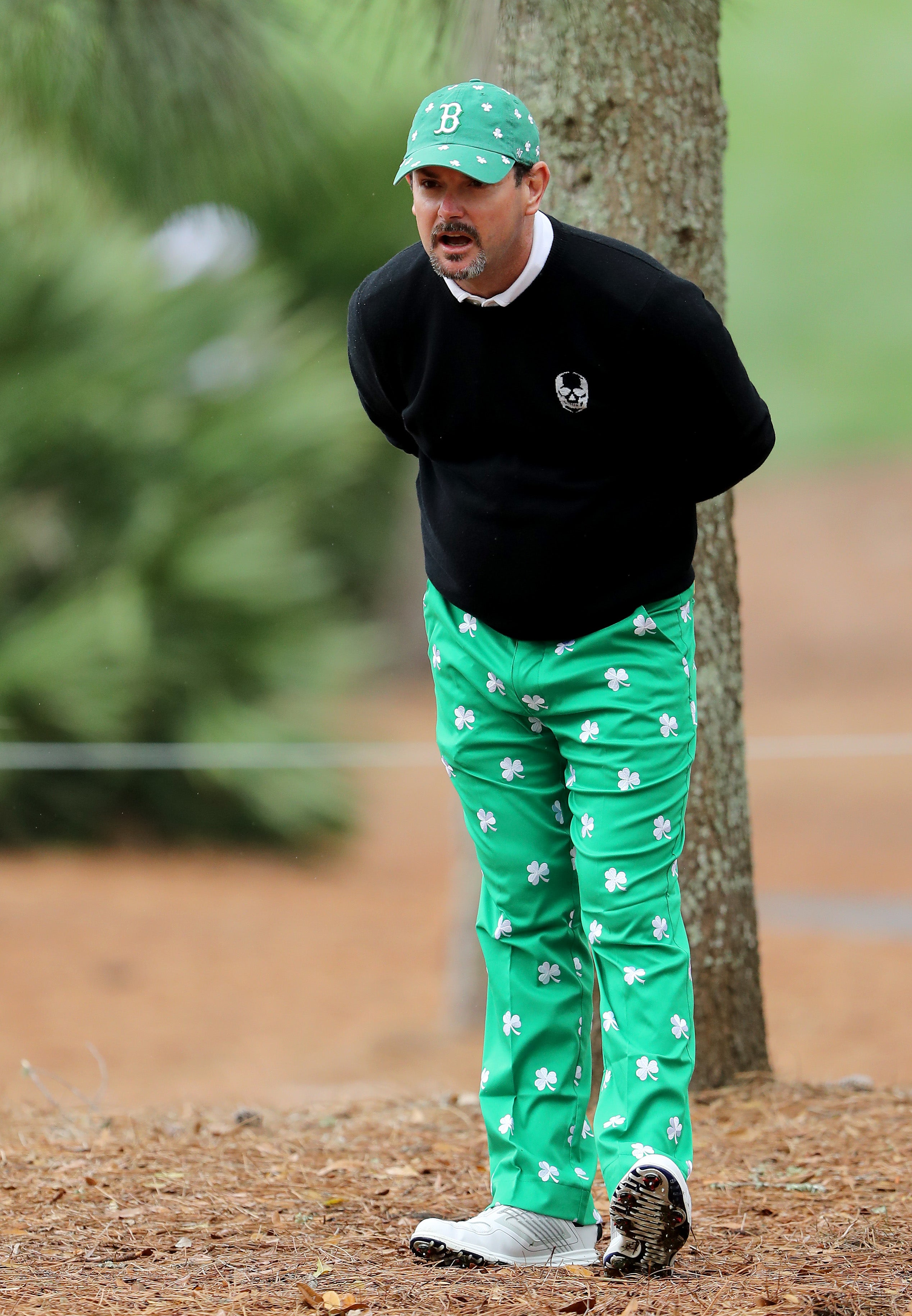 Rory Sabatini has the most St. Patrick's Day spirit.