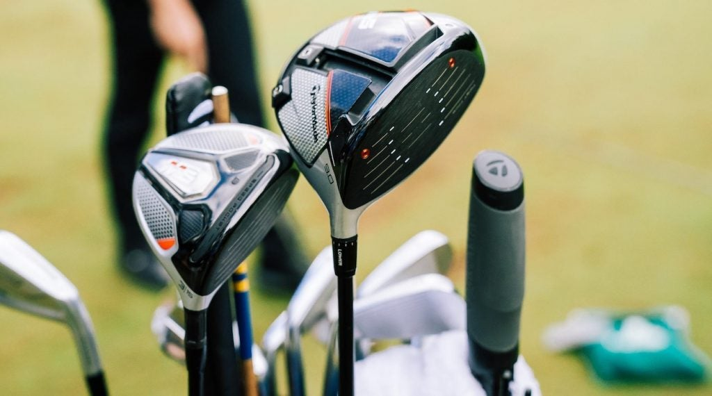 Rory McIlroy was lethal with his TaylorMade woods.