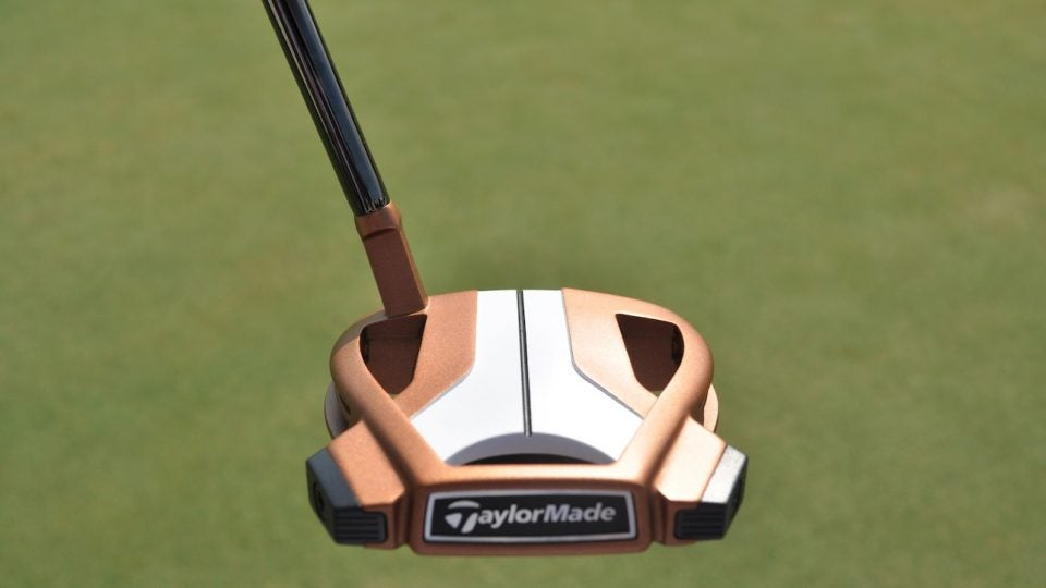 Rory McIlroy added a single sight line to the crown of his TaylorMade Spider Tour X putter.