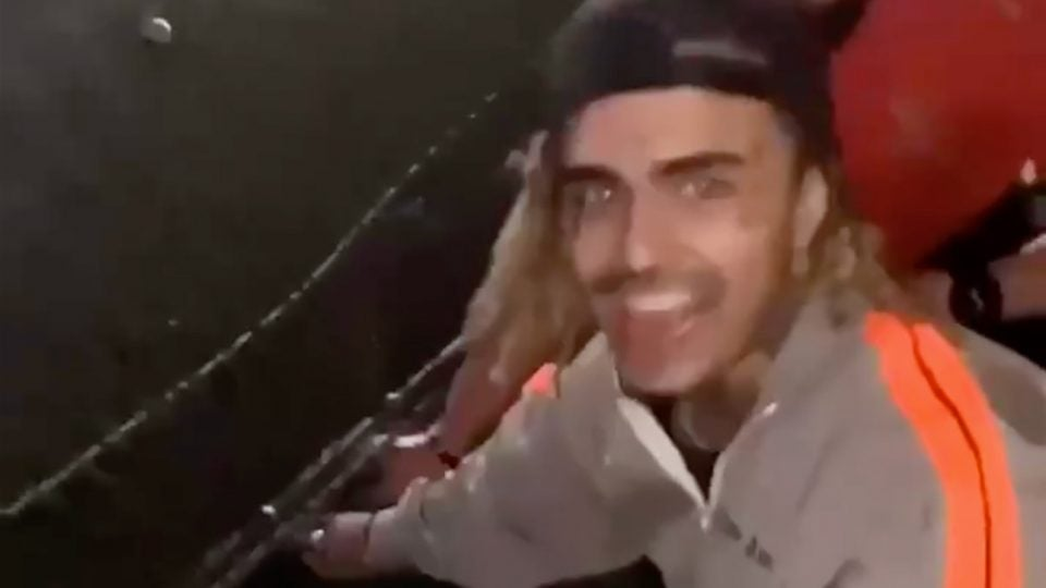 Rapper Lil Pump miraculously found his expensive bling that he lost while swinging at Topgolf.