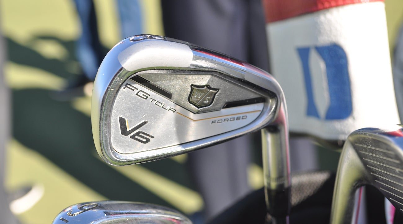 Kevin Streelman's Wilson FG Tour V6 irons offer a bit more forgiveness on mis-hits.