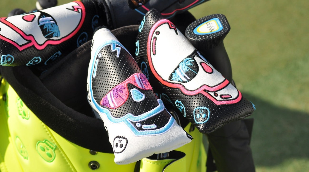 "Swag Golf's ""Swagnum PI"" headcover debuted last week at the Honda Classic."