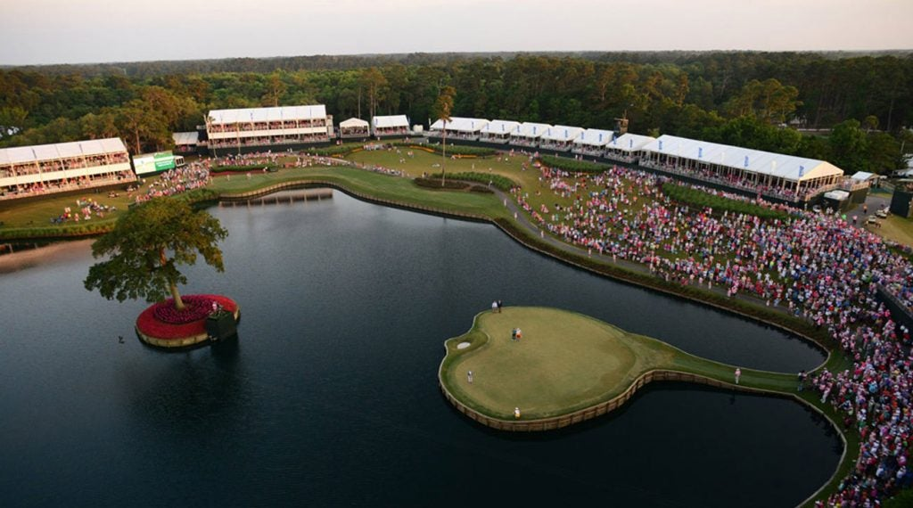 """There are few more exciting holes on Tour than the """"Island Green""""."""